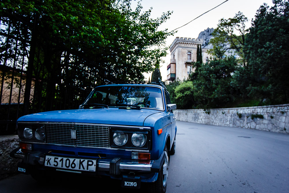 street shots, yes that looks like a castel in the background