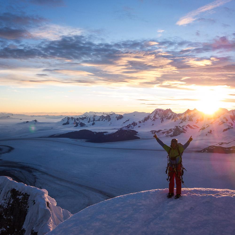 Josh Huckabee always stoker on Cerro Torre's illusive summit