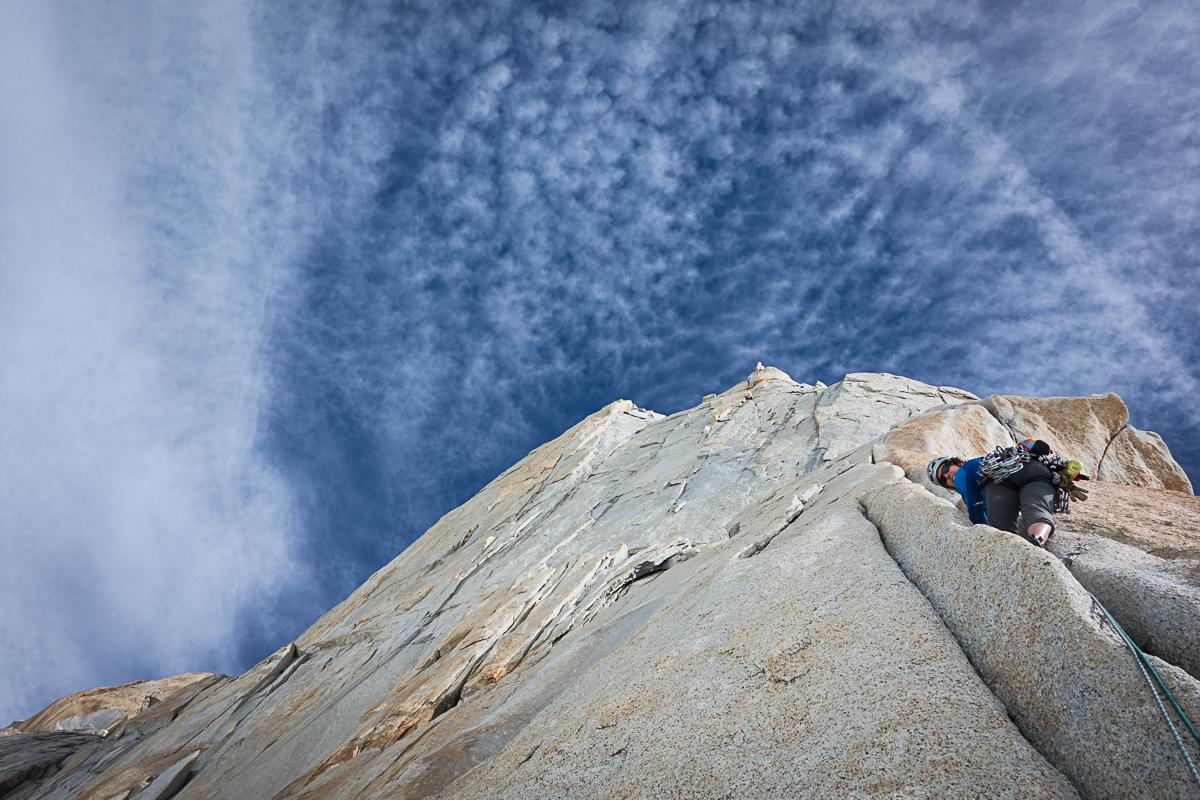 splitters in the alpine! Aguja Mermoz