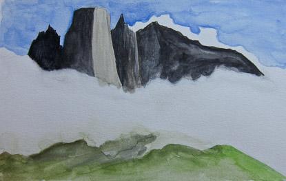 Ulamasortuaq watercolor