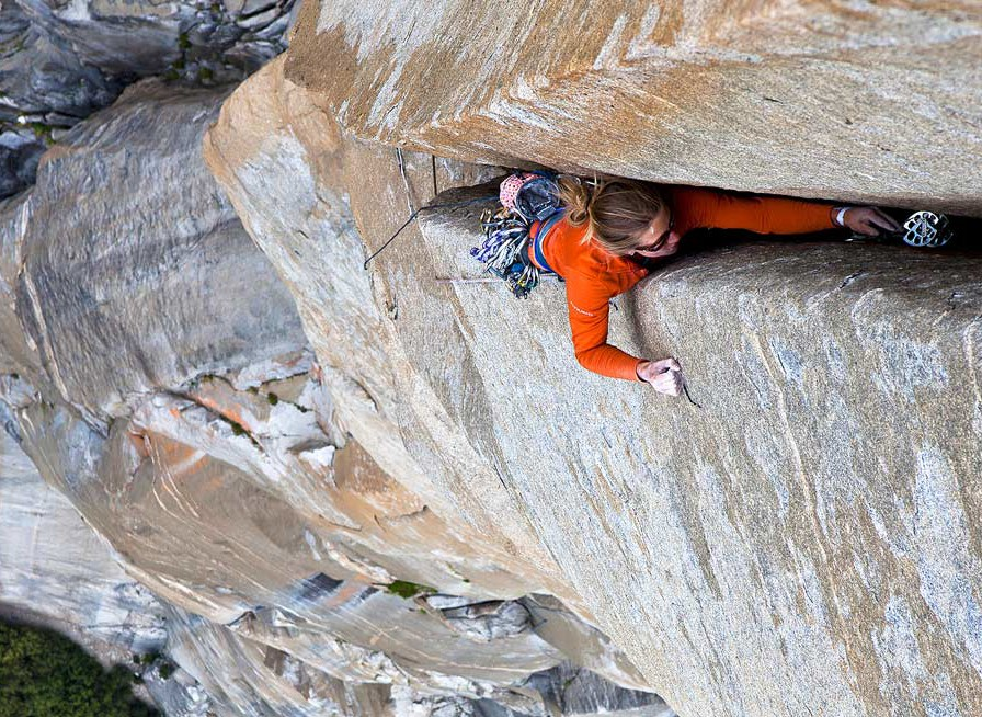 Climbing El Cap, Yosemite Valley, CA